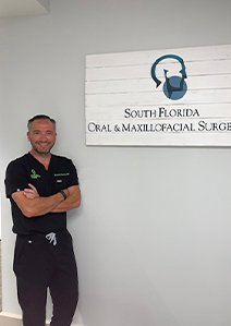 Dr. Jeronimo Guzman, surgeon at South Florida OMS